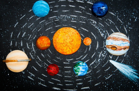 2-4 класс Макет Планеты Солнечной системы. Мастер-класс