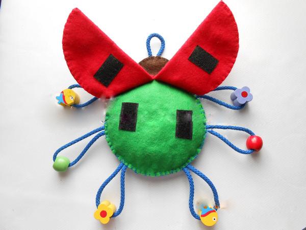 Развивающая игрушка из фетра своими руками