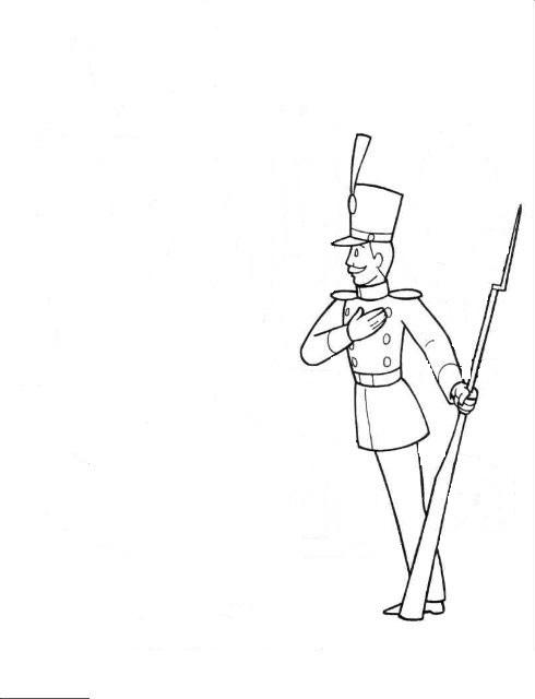 Нарисовать солдатика оловянного поэтапно карандашом