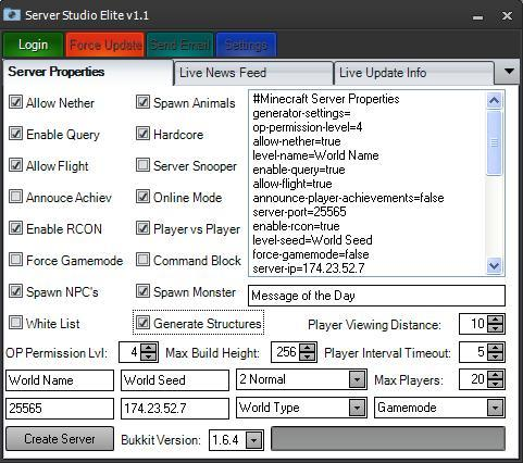 Как создать сервер на майнкрафт 1710 через хамачи