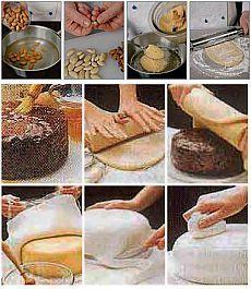 Приготовление марципановой массы рецепты