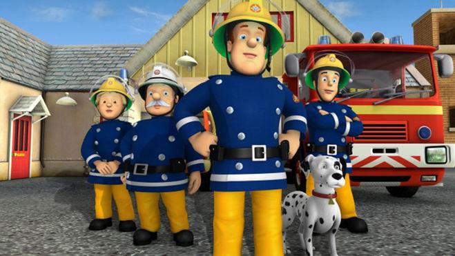 Как зовут персонажей из мультфильма пожарный сэм