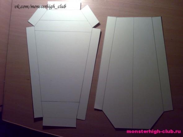 Как сделать шкафчик из бумаги