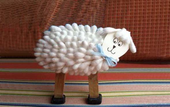 Новый год поделки коза