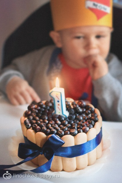 Тортик на 1 год своими руками 61