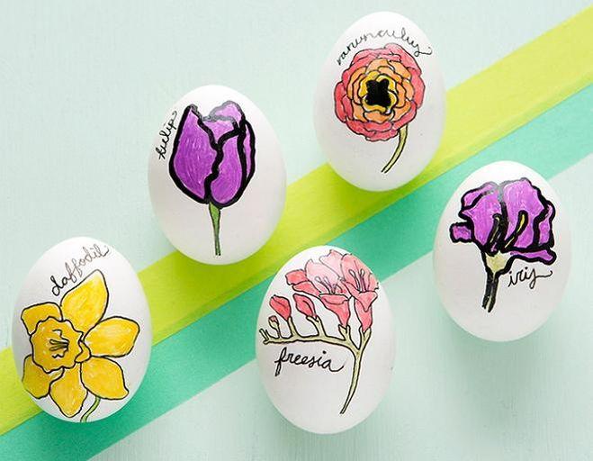 Покрасить яйца на пасху - новые идеи какие?