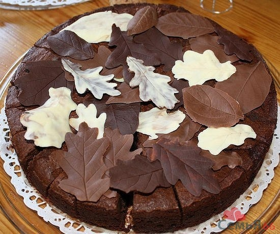 Как сделать листья на торт - Veproekt.ru