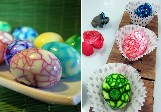 как покрасить яйца свеклой своими руками