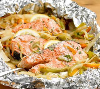 Запечь кету рыбу в духовке рецепты