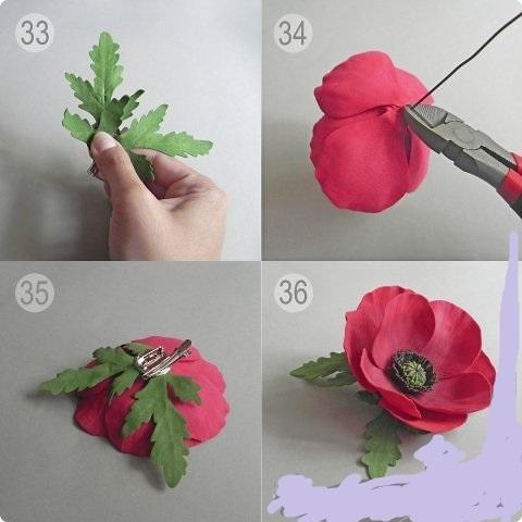 Ободок с тюльпанами Своими руками интернет журнал