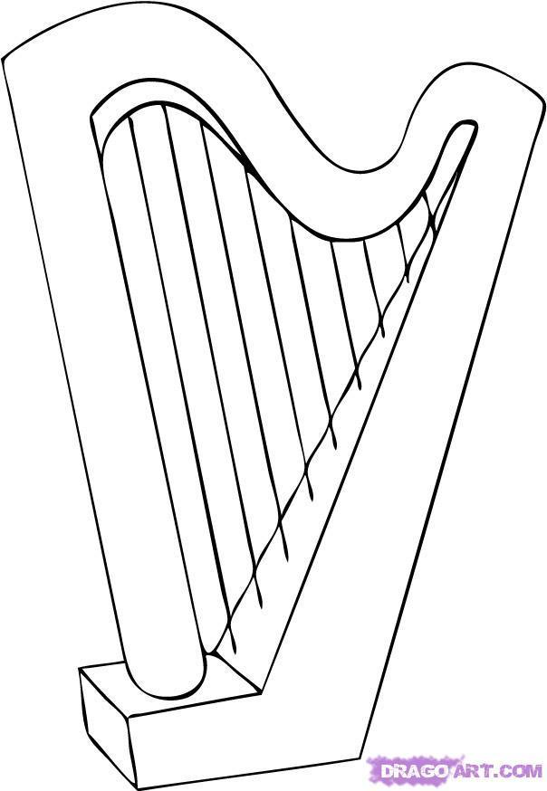 Музыкальный инструмент нарисовать