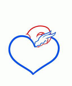 как нарисовать сердцекак нарисовать сердце