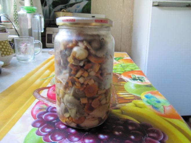 Сколько времени можно хранить отварные грибы в холодильнике — 3