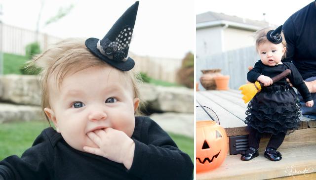 Как сшит; маленькую шляпку для маленькой ведьмочка на Хэллоуин