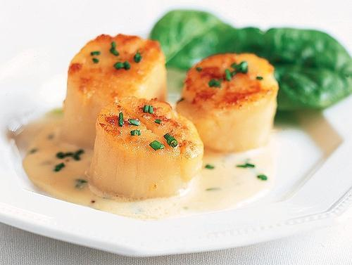 Морские гребешки рецепты