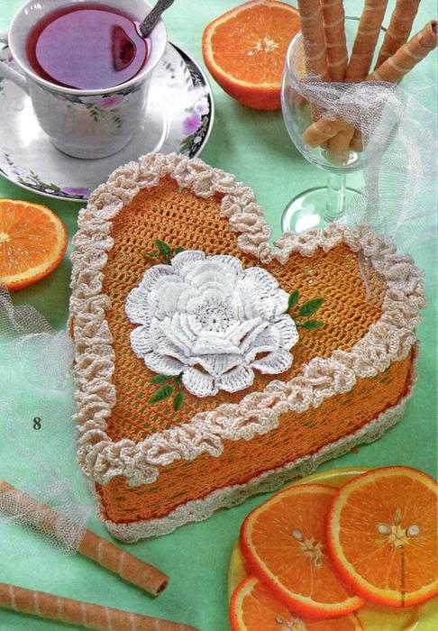 Отдельный кусочек торта вязать