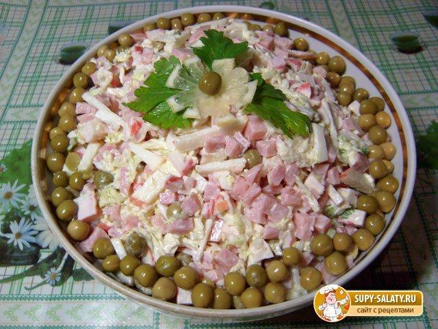 Салат поклонник рецепт с фото