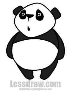 Как на�и�ова�� Панд� п�о��ой ���кой � помо��� �о�о ��ем�