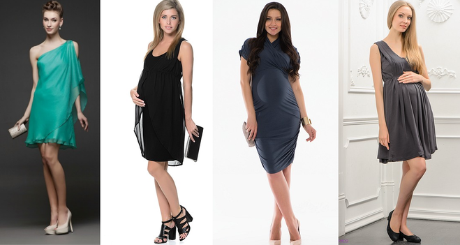Модное платья беременным