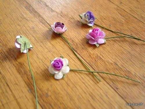 Ободок с цветами из бумаги своими руками