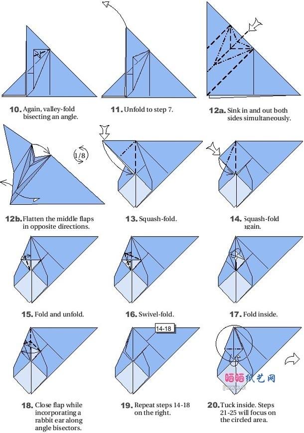 Летучая мышь своими руками оригами
