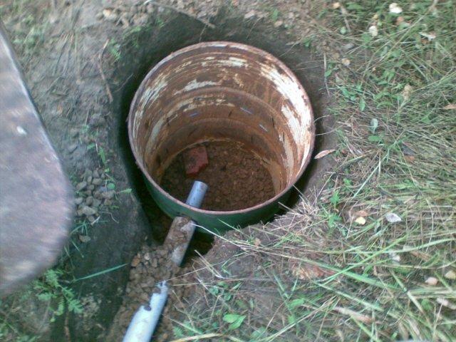 Как сделать выгребную яму чтобы вода уходила 666