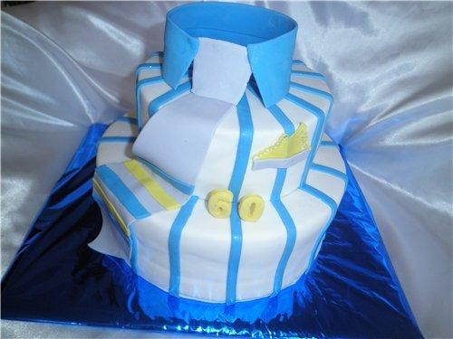 украсить торт 60 лет мужчине