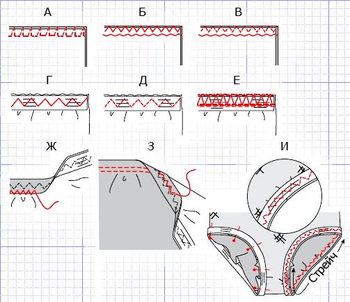Выкройка купальника от Анастасии Корфиати 22