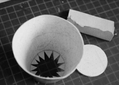 Как сделать золотой ключик Буратино из картона/бумаги