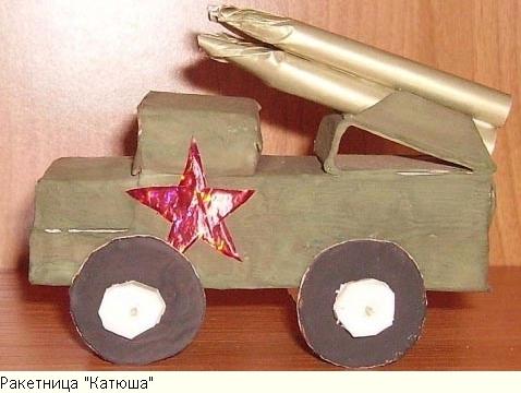 Поделки на военную тематику фото