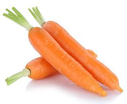 вес средней по размеру моркови