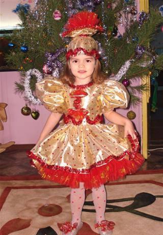 Как сделать новогодний костюм конфетка фото 854