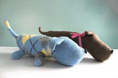 собака из носка