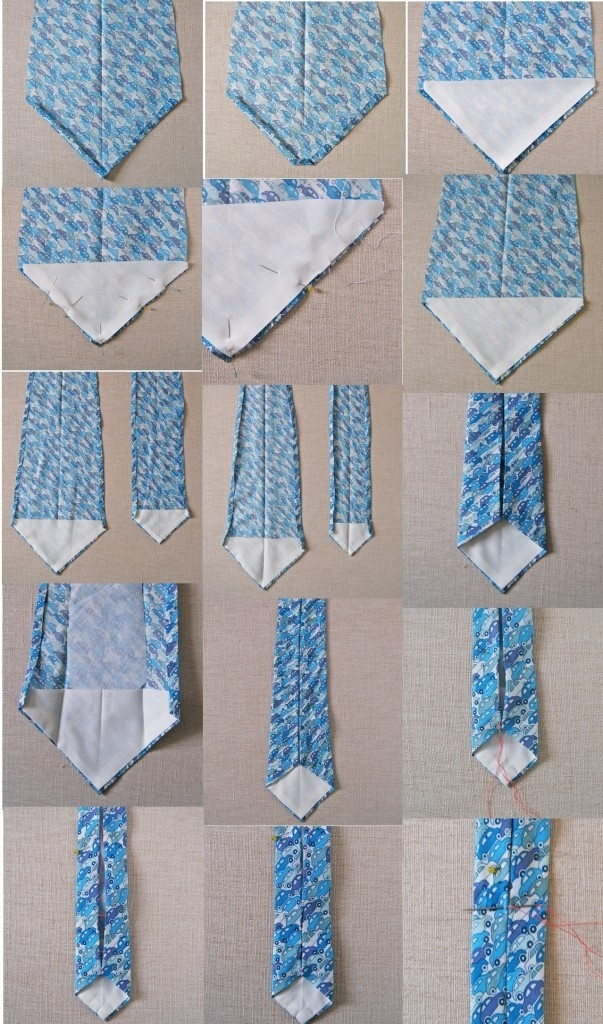 Сшить галстук-бабочку для мальчика своими руками