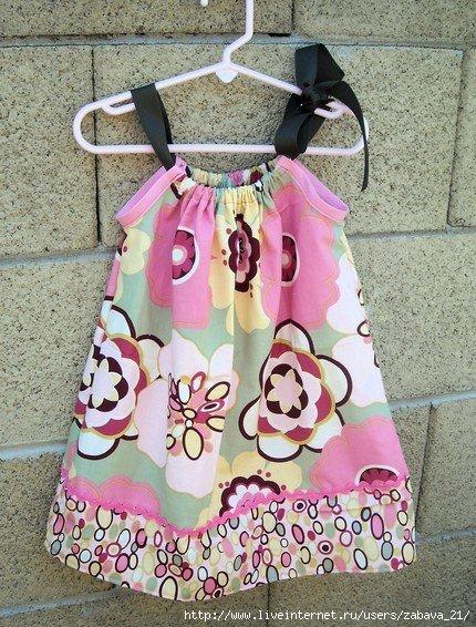 Шьем одежду для девочек своими руками