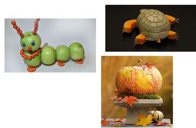 Поделки своими руками из фруктов осень 242