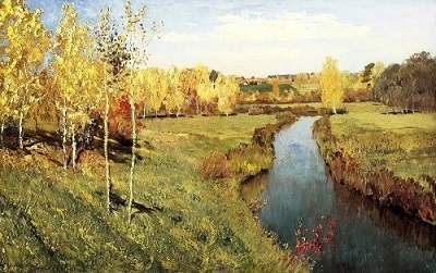 """Левитан """"Золотая осень"""" впечатление о картине"""