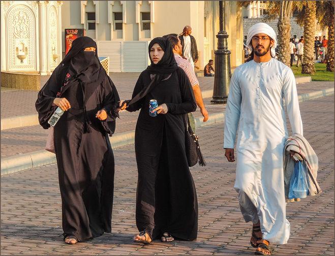 арабская одежда, мужчина, платье