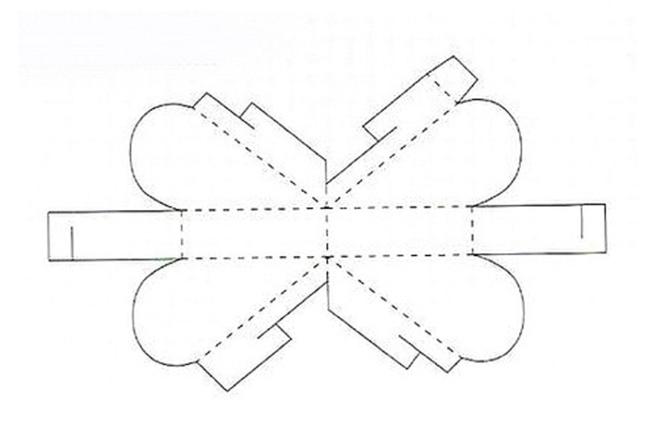 Коробочки из бумаги своими руками объемные