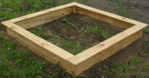 Построить детскую песочницу своими руками