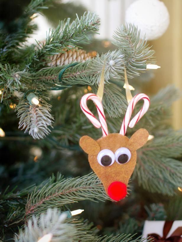 Поделки из рождественских леденцов на