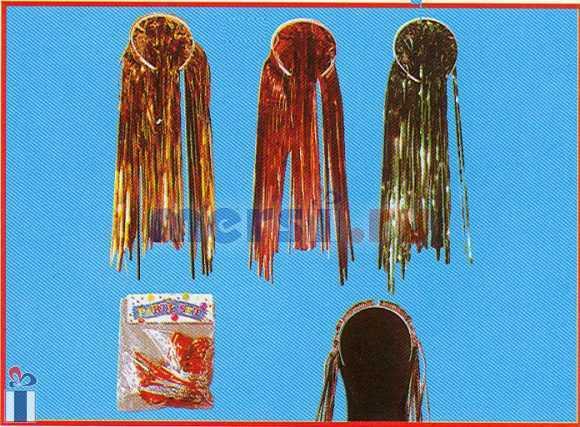 Как сделать парик из мишуры
