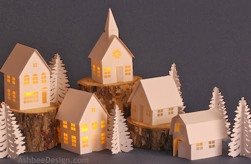 village paper A papercraft blog featuring sci-fi, geek, and pop culture themed paper models.