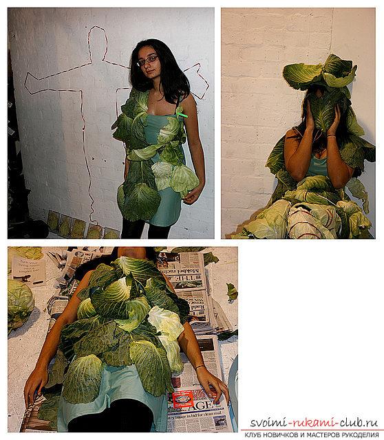 Костюм из овощей своими руками 62