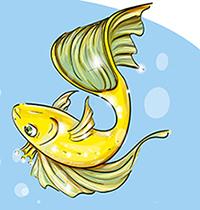 Золотая рыбка без короны К. Бальмонта из сказки
