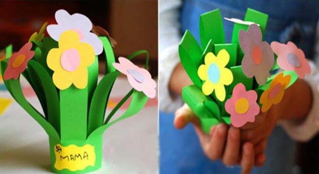 Подарки к дню матери дети своими руками