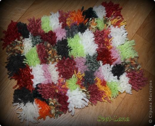 Из чего сделать коврик своими руками