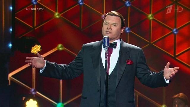 """Шоу """"Точь-в-точь"""". Евгений Дятлов в образе Frank Sinatra - где посмотреть?"""