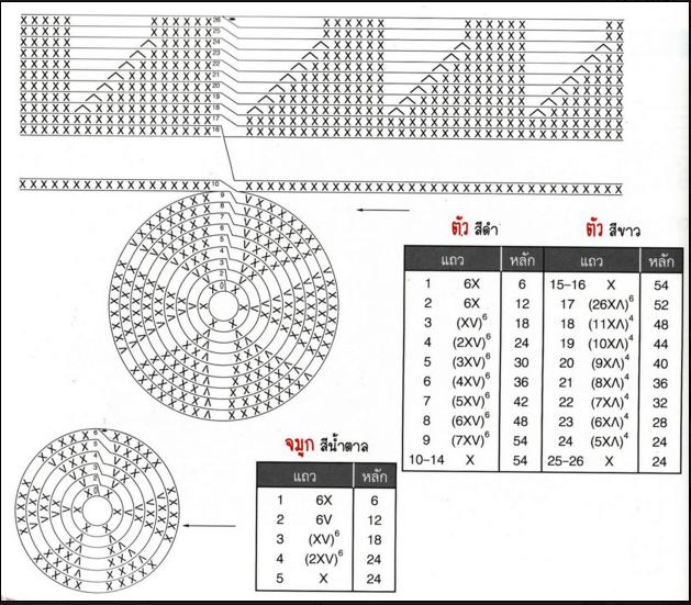 Вязание амигуруми со схемами и описанием 154