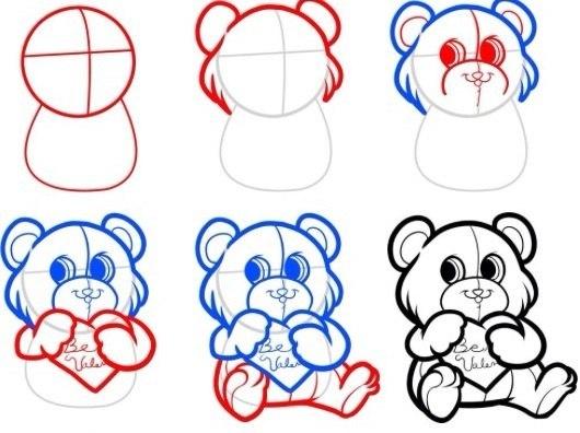 Как научиться рисовать карандашом с нуля поэтапно